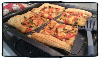 Pastry Pizza 350x209 Recipe: Pastry Pizza