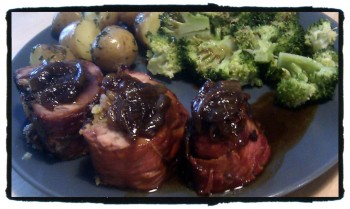 IMAG0758 edit0 350x209 Recipe: Roast Stuffed and Rolled Pork Fillet