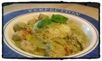 IMAG0750 edit0 350x209 Recipe: Thai Green Chicken Curry